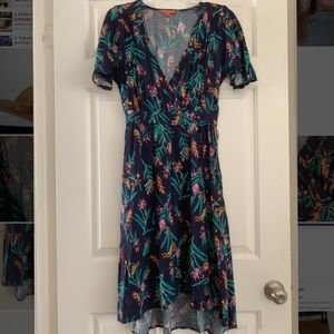 NEW ModCloth Floral Dress, Small